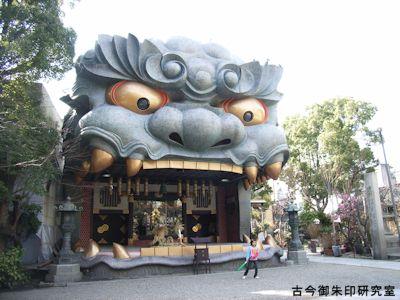 難波八阪神社獅子舞台