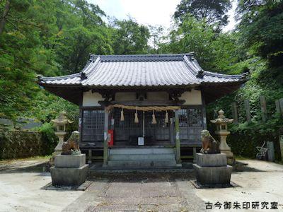 住吉神社(長浜)拝殿
