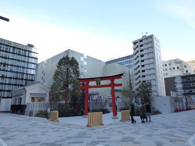 福徳神社全景