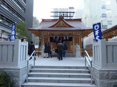福徳神社社殿