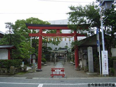 御釜神社大鳥居