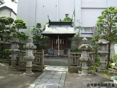 御釜神社社殿