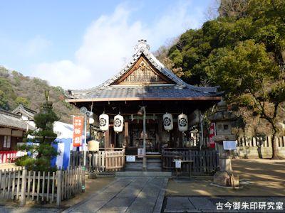 祇園神社拝殿