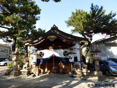 魚崎八幡宮神社拝殿
