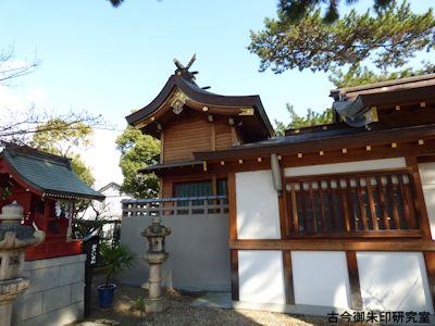 魚崎八幡宮神社本殿
