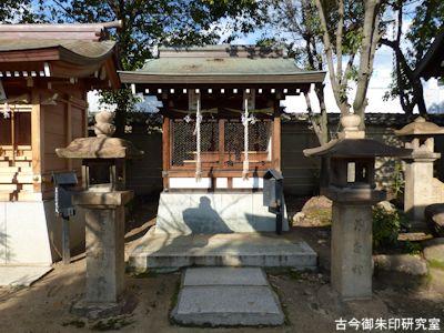 本住吉神社 大海社・塞之神