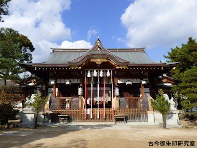 本住吉神社拝殿