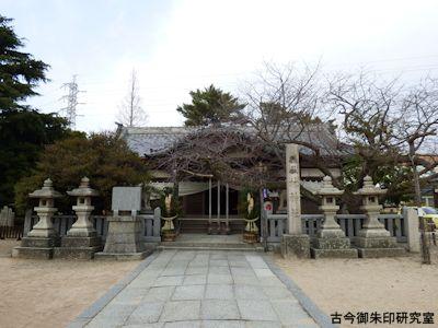 林神社(明石)拝殿