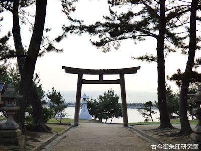 魚住住吉神社、錦ヶ浦