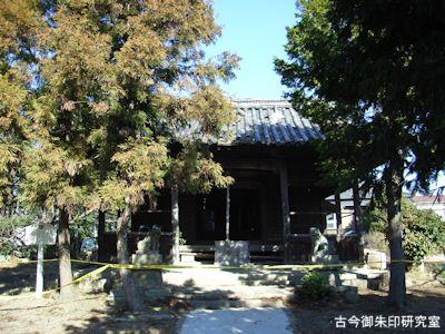 明石神社旧拝殿