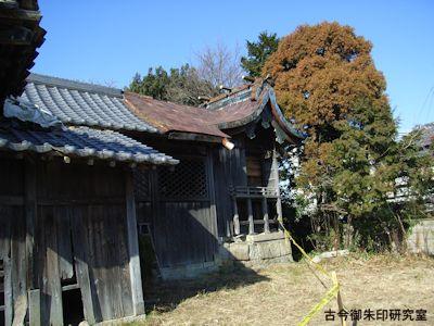 明石神社旧本殿