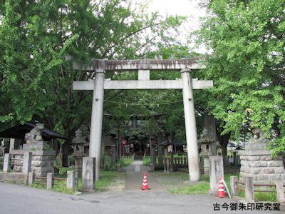 湯福神社一の鳥居