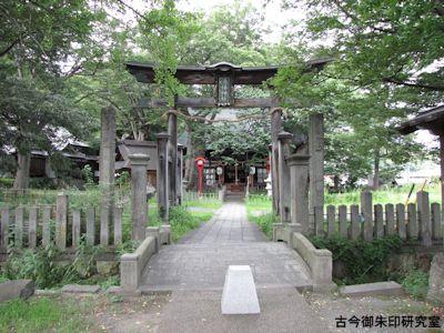 湯福神社二の鳥居