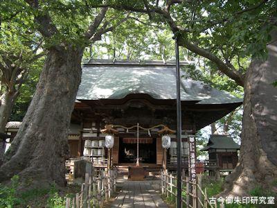 湯福神社拝殿