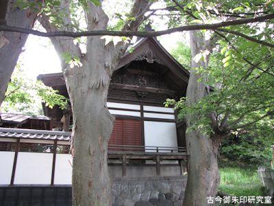 湯福神社本殿