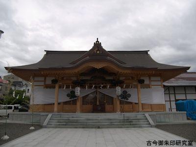 武井神社拝殿