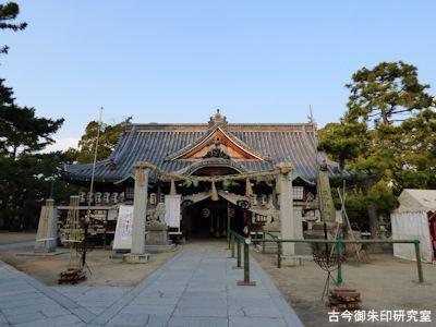 高砂神社拝殿