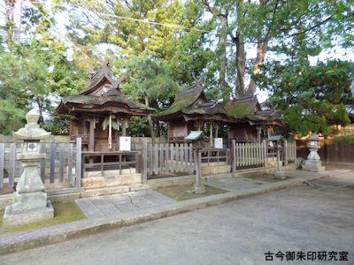 高砂神社、境内末社