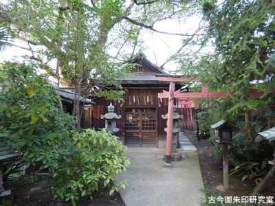 高砂神社、榎神社
