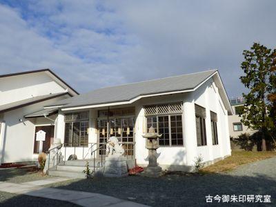 明石神社の社殿