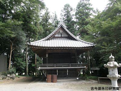 みか神社神楽殿