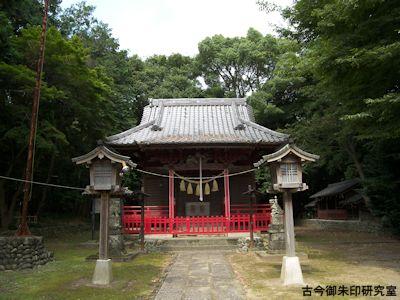 みか神社拝殿