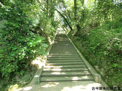 波自加彌神社石段