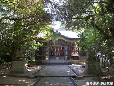 波自加彌神社拝殿