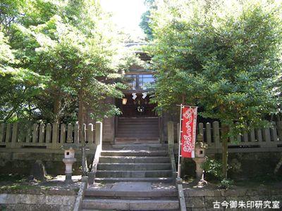 波自加彌神社本殿