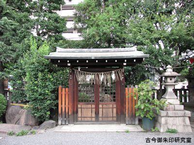 梛神社隼神社、田中神社