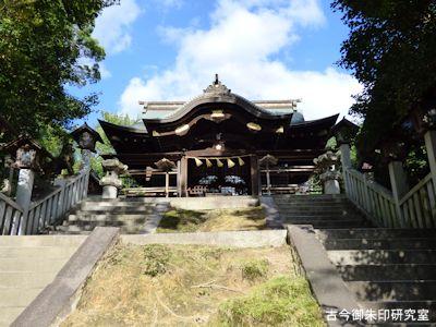 備後護国神社拝殿