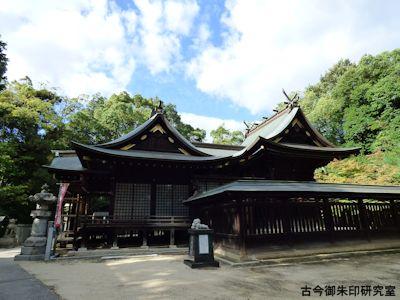 備後護国神社社殿