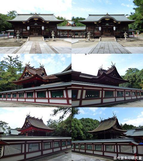 福山八幡宮東西宮拝殿・本殿