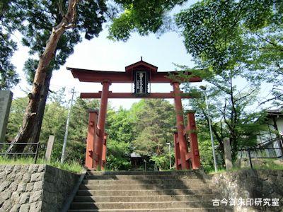 彦神別神社(長野)鳥居