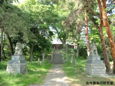 彦神別神社(長野)境内