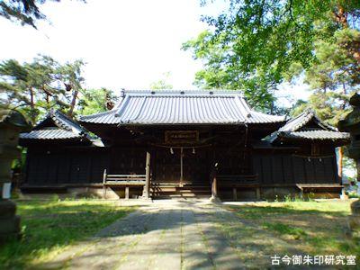 彦神別神社(長野)拝殿