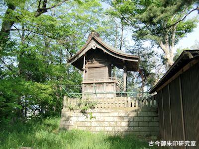 彦神別神社(長野)本殿
