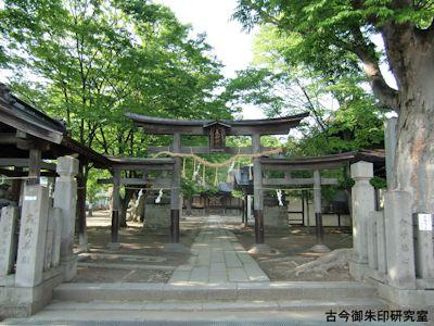 美和神社(長野)三輪鳥居