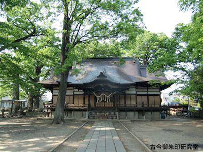 美和神社(長野)拝殿