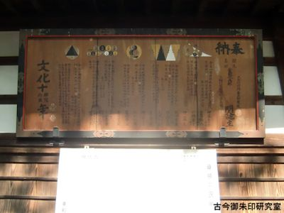 美和神社(長野)算額