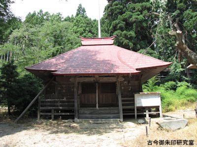 新宮熊野神社文殊堂