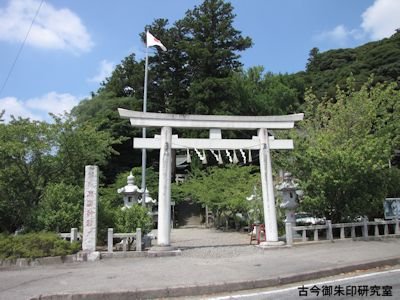 高瀧神社一の鳥居