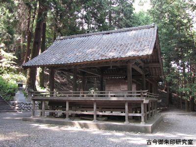 武田八幡宮舞殿