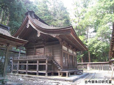 武田八幡宮本殿