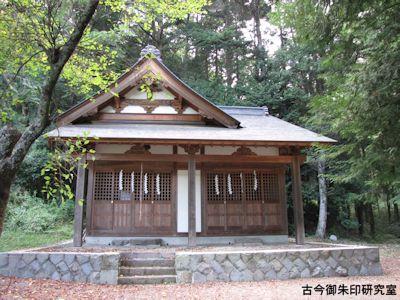 武田八幡宮、為朝神社