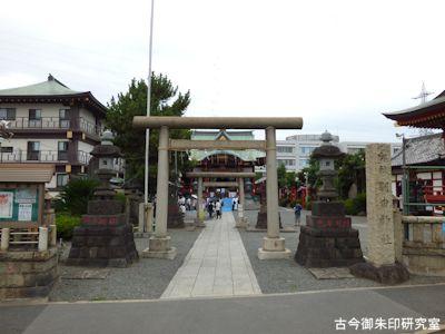 羽田神社鳥居