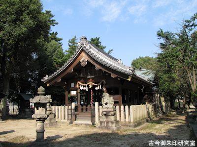 川曲神社拝殿