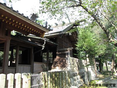 川曲神社祭文殿