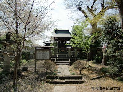 広瀬神社、霞神社