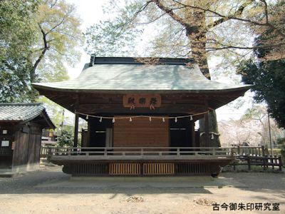 広瀬神社神楽殿